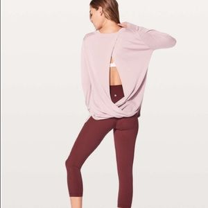 Lululemon Bring It Backbend Sweater